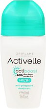 Парфюми, Парфюмерия, козметика Рол-он дезодорант-антиперспирант 48-часова защита - Oriflame Activelle Actiboost Fresh