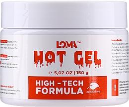 Парфюмерия и Козметика Загряващ гел-крем за тяло за корекция на фигурата - Loma Sports Hot Gel Cream