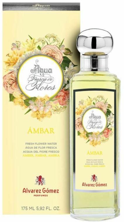 Alvarez Gomez Agua Fresca de Flores Ambar - Тоалетна вода