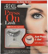 Парфюми, Парфюмерия, козметика Изкустевни мигли - Ardell Press On Lashes 101 Black