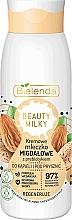 Парфюмерия и Козметика Регенериращо мляко за вана и душ с бадем - Bielenda Beauty Milky Regenerating Almond Shower & Bath Milk