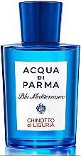 Парфюмерия и Козметика Acqua di Parma Blu Mediterraneo Chinotto di Liguria - Тоалетна вода (тестер без капачка)