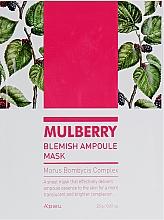 Парфюмерия и Козметика Ампулна маска за лице - A'pieu Mulberry Blemish Ampoule Mask