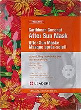 Парфюми, Парфюмерия, козметика Маска за лице за след слънчеви бани с карибски кокос - Leaders 7 Wonders Caribean Coconut After Sun Mask