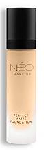 Парфюмерия и Козметика Матиращ фон дьо тен - NEO Make Up Perfect Matte Foundation