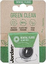 Парфюмерия и Козметика Конец за зъби, 30 м - Jordan Green Clean Dental Floss