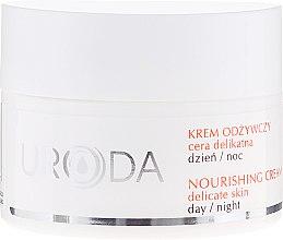 Парфюмерия и Козметика Подхранващ крем за лице за чувствителна кожа - Uroda Nourishing Face Cream For Sensitive Skin