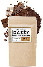 Парфюми, Парфюмерия, козметика Кофеинов скраб за лице и тяло с шоколад - Dazzy Coffee Face & Body Scrub Coffee & Chocolate