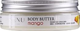 """Парфюмерия и Козметика Масло за тяло """"Манго"""" - Kanu Nature Mango Body Butter"""