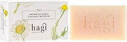 Парфюмерия и Козметика Натурален сапун с екстракт от иглика - Hagi Soap
