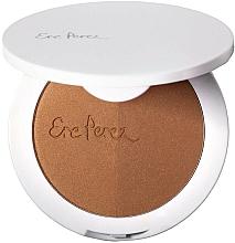 Парфюмерия и Козметика Руж-бронзант за лице - Ere Perez Rice Powder Blush & Bronzer