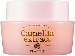 Парфюмерия и Козметика Крем за лице с масла от шеа и макадамия - Dewytree Phyto Therapy Camellia Extract Cream