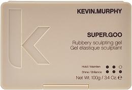 Парфюмерия и Козметика Гел за оформяне със силна фиксация - Kevin.Murphy Super.Goo Firm Hold Rubbery Gel