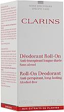 Дезодорант рол-он - Clarins Gentle Care Roll-On Deodorant — снимка N2