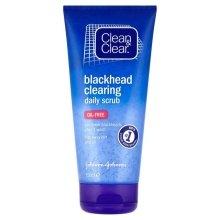 Парфюмерия и Козметика Скраб за лице - Clean & Clear Blackhead Clearing Daily Scrub