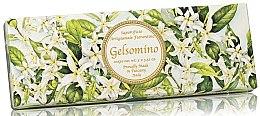 Парфюми, Парфюмерия, козметика Комплект натурален сапун с аромат на жасмин - Saponificio Artigianale Jasmine Scented Soap (soap/3pcsx100g)