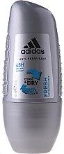 Парфюмерия и Козметика Рол-он дезодорант - Adidas Anti-Perspirant Fresh Cool Dry 48h