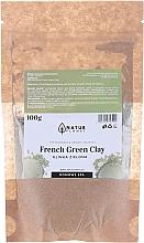 Парфюмерия и Козметика Маска за лице - Natur Planet French Green Clay