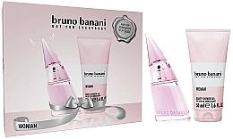 Парфюмерия и Козметика Bruno Banani Woman - Комплект (тоал. вода/20ml + душ гел/50ml)