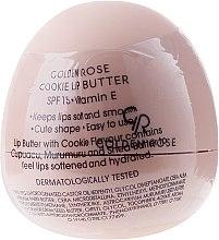 Парфюми, Парфюмерия, козметика Балсам-масло за устни, бисквитка - Golden Rose Lip Butter SPF15 Cookie