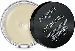 Парфюмерия и Козметика Матираща глина за коса със силна фиксация - Balmain Matt Clay Strong