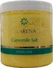 Парфюми, Парфюмерия, козметика Финозърнеста сол с лайка за педикюрна вана - Clarena Podo Line Camomile Salt