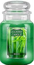 Парфюми, Парфюмерия, козметика Ароматна свещ в бурканче - Country Candle Bamboo