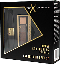 Парфюми, Парфюмерия, козметика Комплект - Max Factor (спирала за мигли/9мл+ палитра сенки за очи/6.5гр)