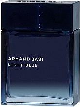 Парфюмерия и Козметика Armand Basi Night Blue - Тоалетна вода (тестер без капачка)