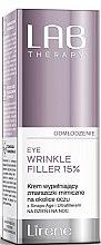 Парфюмерия и Козметика Антистареещ филър за околоочния контур - Lirene Lab Therapy Anti Ageing Eye Cream Eye Wrinkle Filler 15%