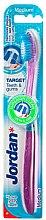 Парфюми, Парфюмерия, козметика Четка за зъби Medium Target, розова - Jordan Target Teeth & Gums Medium