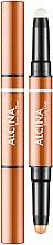 Парфюмерия и Козметика Червило и основа за устни 2 в 1 - Alcina Beauty To Go Even Lip Duo