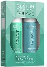 Парфюмерия и Козметика Комплект за коса - Revlon Professional Equave Volume Detangling (шампоан/250ml + балсам/200ml)