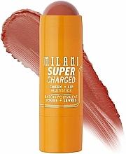 Парфюмерия и Козметика Мултистик за скули и устни - Milani Supercharged Cheek + Lip Multistick