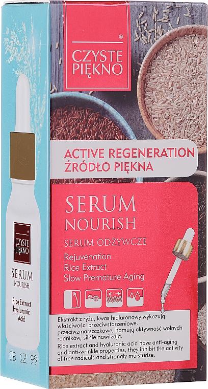 Подхранващ серум за лице с екстракт от ориз - Czyste Piekno Face Serum