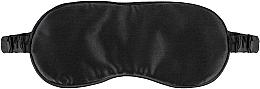 """Парфюмерия и Козметика Маска за сън от естествена коприна, черна """"Sleepy"""" - Makeup Sleep Mask Black"""