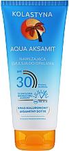 Парфюмерия и Козметика Хидратираща слънцезащитна емулсия за лице - Kolastyna Aqua Aksamit Suncare Emulsion SPF 30
