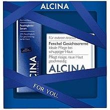 Парфюмерия и Козметика Комплект за лице - Alcina Dry Skin Set (крем/50ml + серум/30ml)