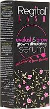 Парфюмерия и Козметика Серум за растеж на мигли и вежди - Regital Lash Eyelash & Brow Growth Stimulating Serum