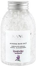 """Парфюмерия и Козметика Минерални соли за вана """"Лавандула"""" - Kanu Nature Lavender Mineral Bath Salt"""