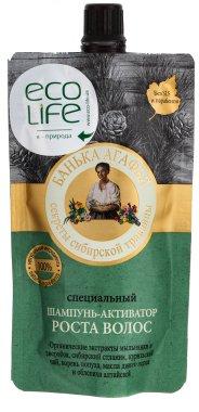 Специален шампоан за активен растеж - Рецептите на баба Агафия