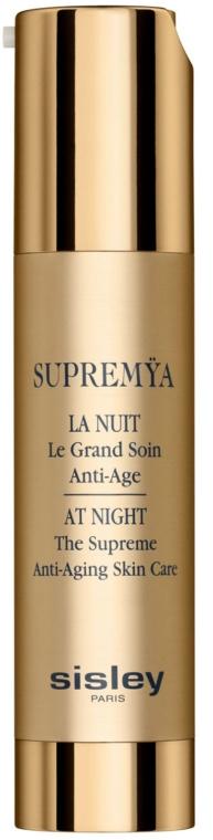 Комплексен нощен крем-серум с подмладяващ ефект - Sisley Supremya At Night The Supreme Anti-Aging Skin Care — снимка N2