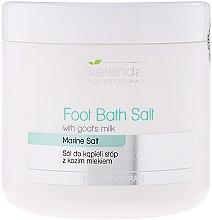 Парфюмерия и Козметика Соли за педикюр с козе мляко - Bielenda Professional Foot Bath Salt With Goat's Milk
