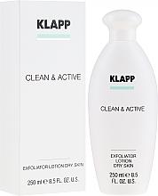 Парфюмерия и Козметика Ексфолиант за суха кожа - Klapp Clean & Active Exfoliator Dry Skin