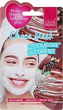 "Парфюмерия и Козметика Маска за лице ""Шоколад"" - Czyste Piekno Choco Face Mask"