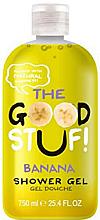 Парфюми, Парфюмерия, козметика Овлажняващ душ гел с аромат на бабан - The Good Stuf Banana Shower Gel