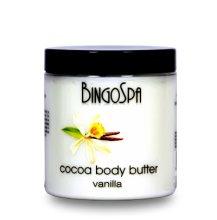 Парфюми, Парфюмерия, козметика Какаово масло с ванилия за тяло - BingoSpa Cocoa Butter, Vanilla Body