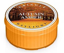 Парфюмерия и Козметика Чаена свещ - Kringle Candle Autumn Amber Daylight
