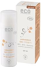 Парфюмерия и Козметика СС крем за лице SPF 50 - Eco Cosmetics Tinted CC Cream SPF 50