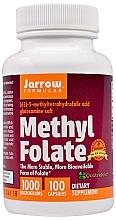 """Парфюмерия и Козметика Хранителна добавка """"Метилфолат"""" на капсули - Jarrow Formulas Methyl Folate 1000 mcg"""
